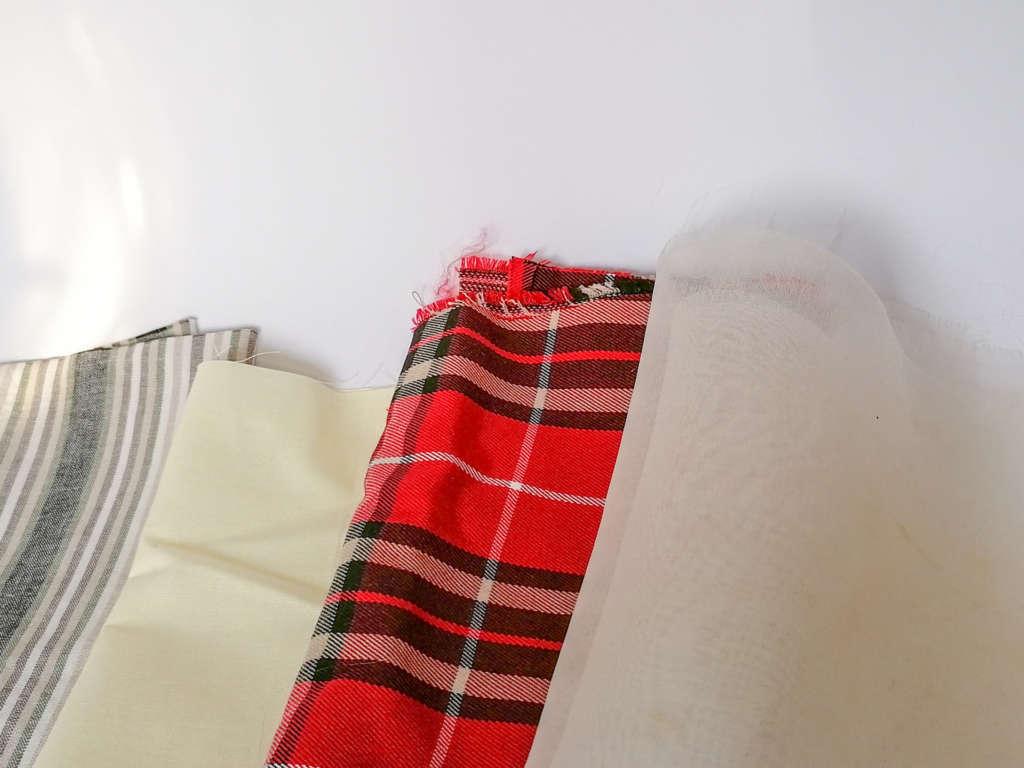 Bügeltücher-Seidenorganza-Wolle-Leinen-Baumwolle
