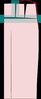 Schnittmuster-großer-bauch-verlängern