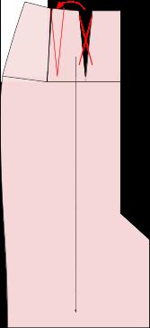 Schnittmuster-verkleinern-flacher-popo