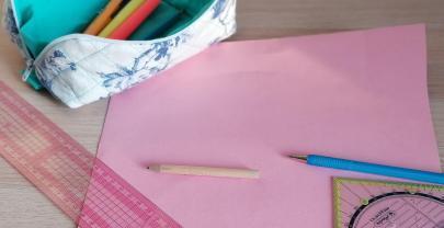 Magic Pouch Schnittmuster in 4 Schritten zeichnen