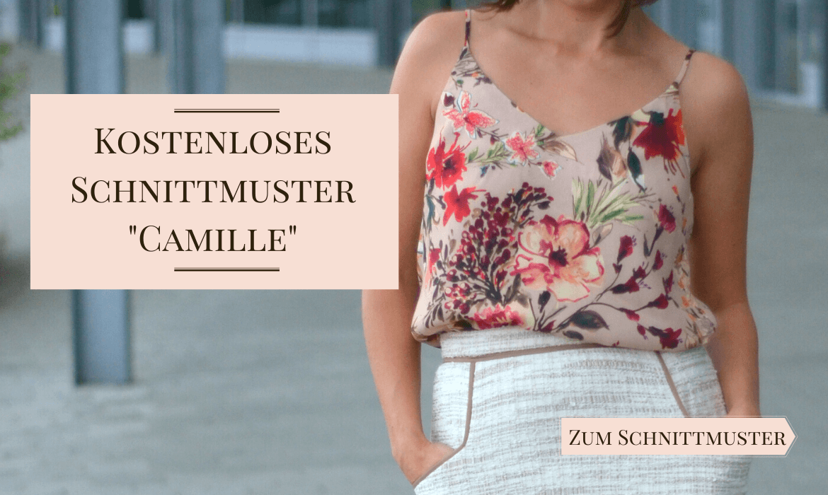 Kostenloses Schnittmuster Camisole